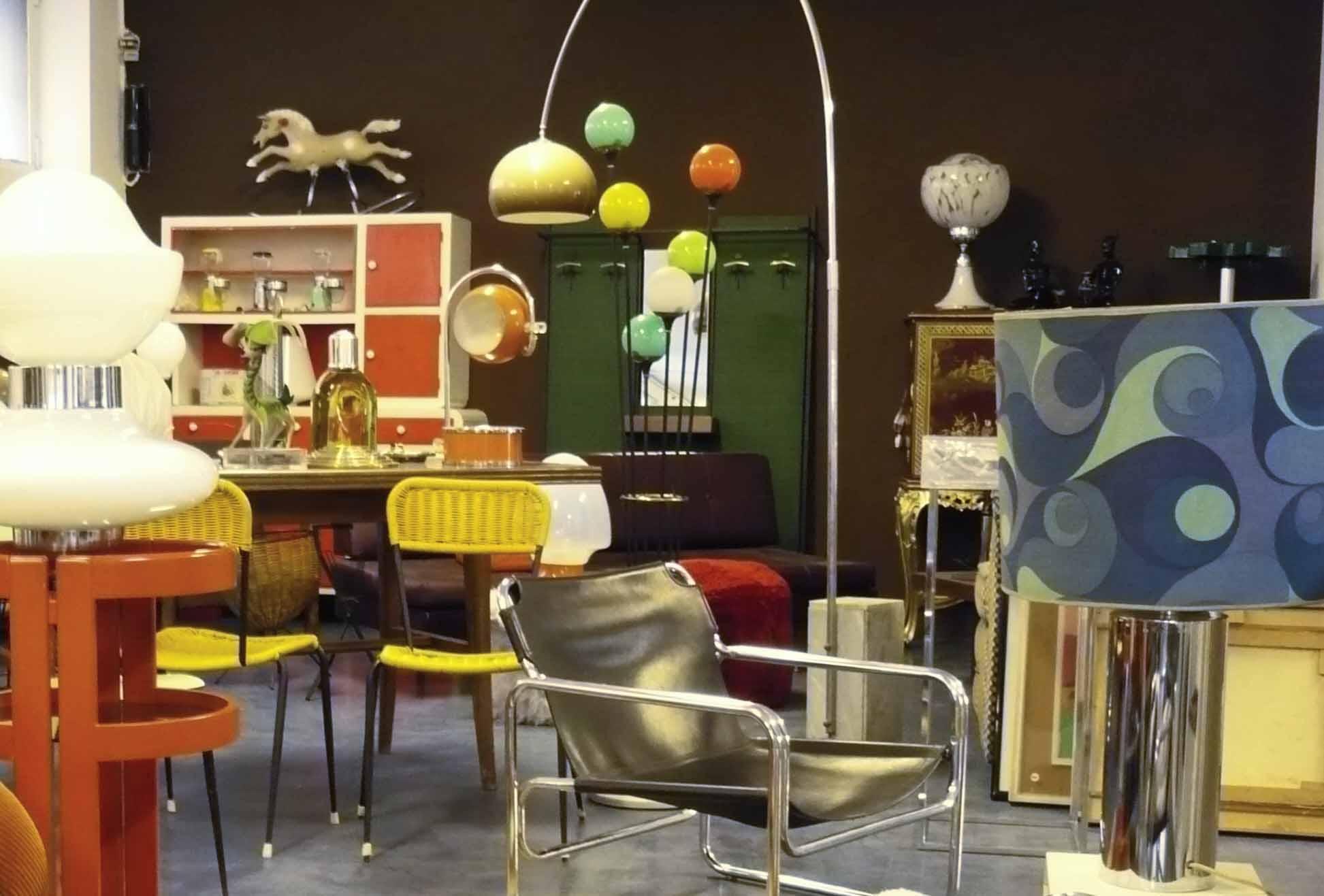 Modernariato il design che non ti aspetti da mercatopoli for Negozi mobili da giardino milano