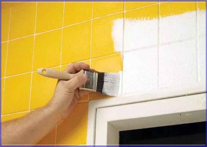 Piastrelle riverniciate donano un nuovo aspetto alla casa - Primer per piastrelle ...