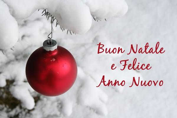 Conosciuto Auguri di Buon Natale e Felice Anno Nuovo DT36