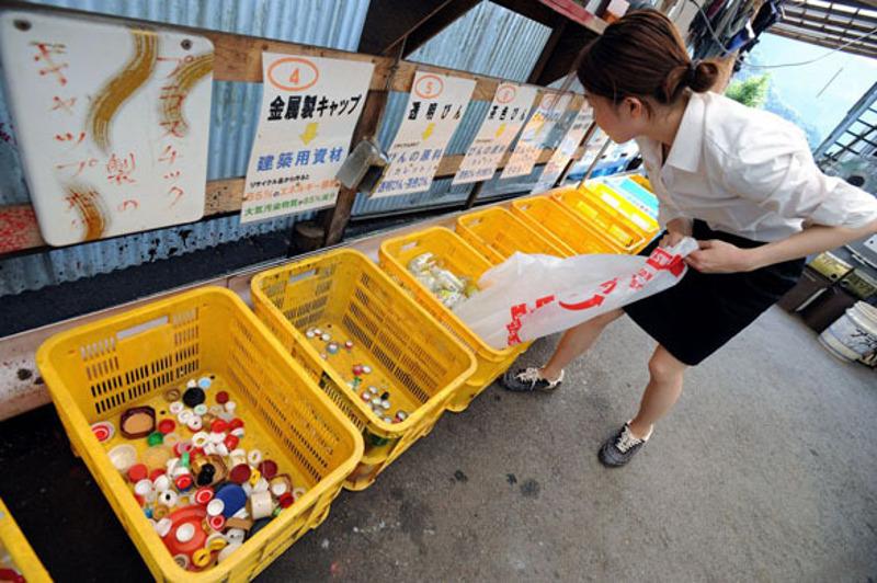 Kamikatsu riciclo zero rifiuti