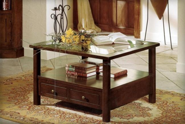 Tavolino Salotto Basso Moderno Legno Rovere Sonoma Tl4718 Of ...