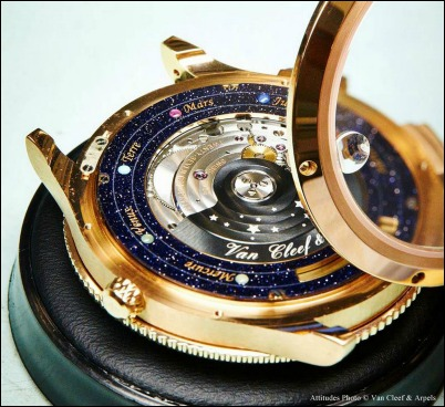 orologio sistema solare