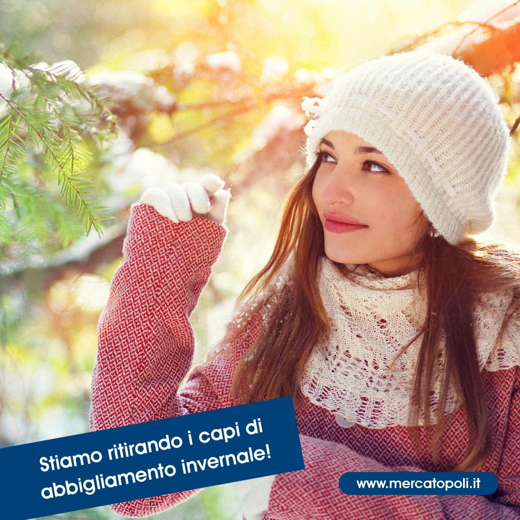 ritiro abbigliamento invernale usato