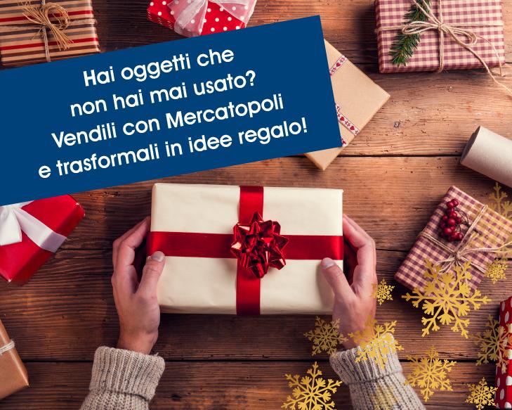 vendere idee regalo con Mercatopoli