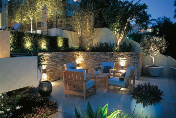 illuminazione da giardino usata