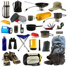 attrezzature campeggio