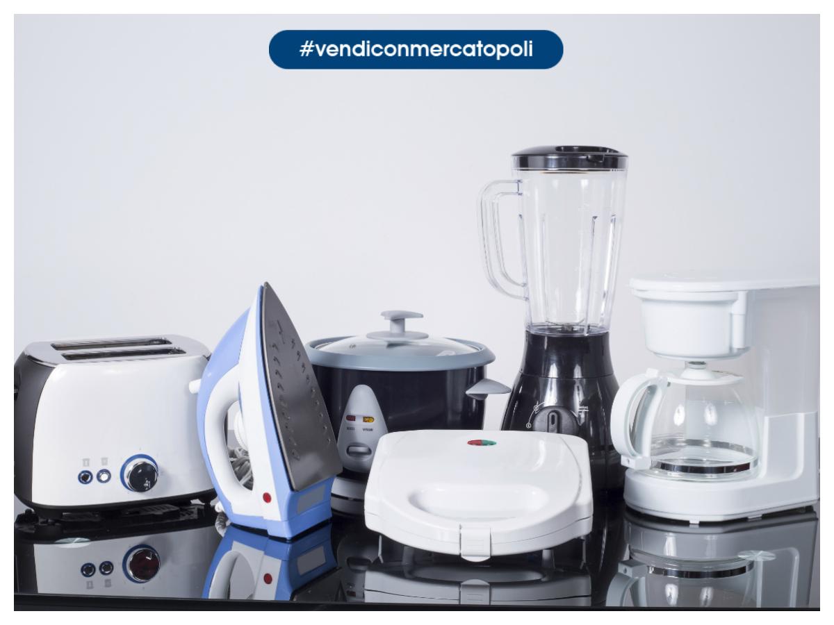 Come vendere piccoli elettrodomestici da cucina mercatopoli - Elettrodomestici piccoli da cucina ...