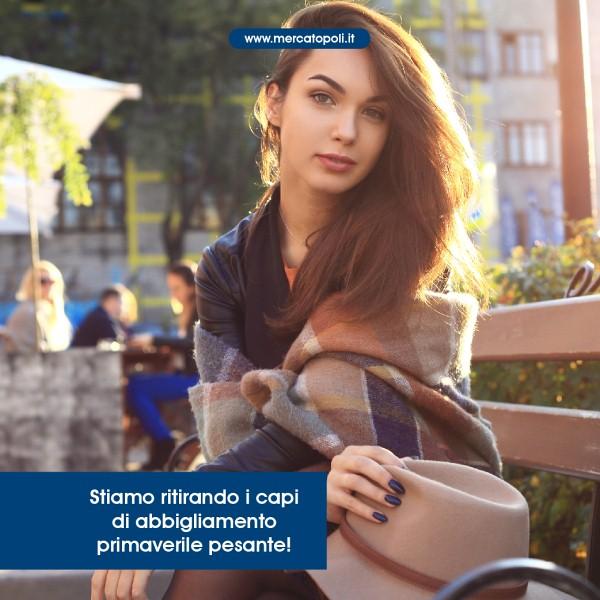Mercatopoli Orzinuovi dal 16 gennaio inizia a ritirare l abbigliamento  primaverile! PRIMAVERA 2018  nuovo guardaroba Scopri i vantaggi di vendere  con ... 1bfd8b67ff2