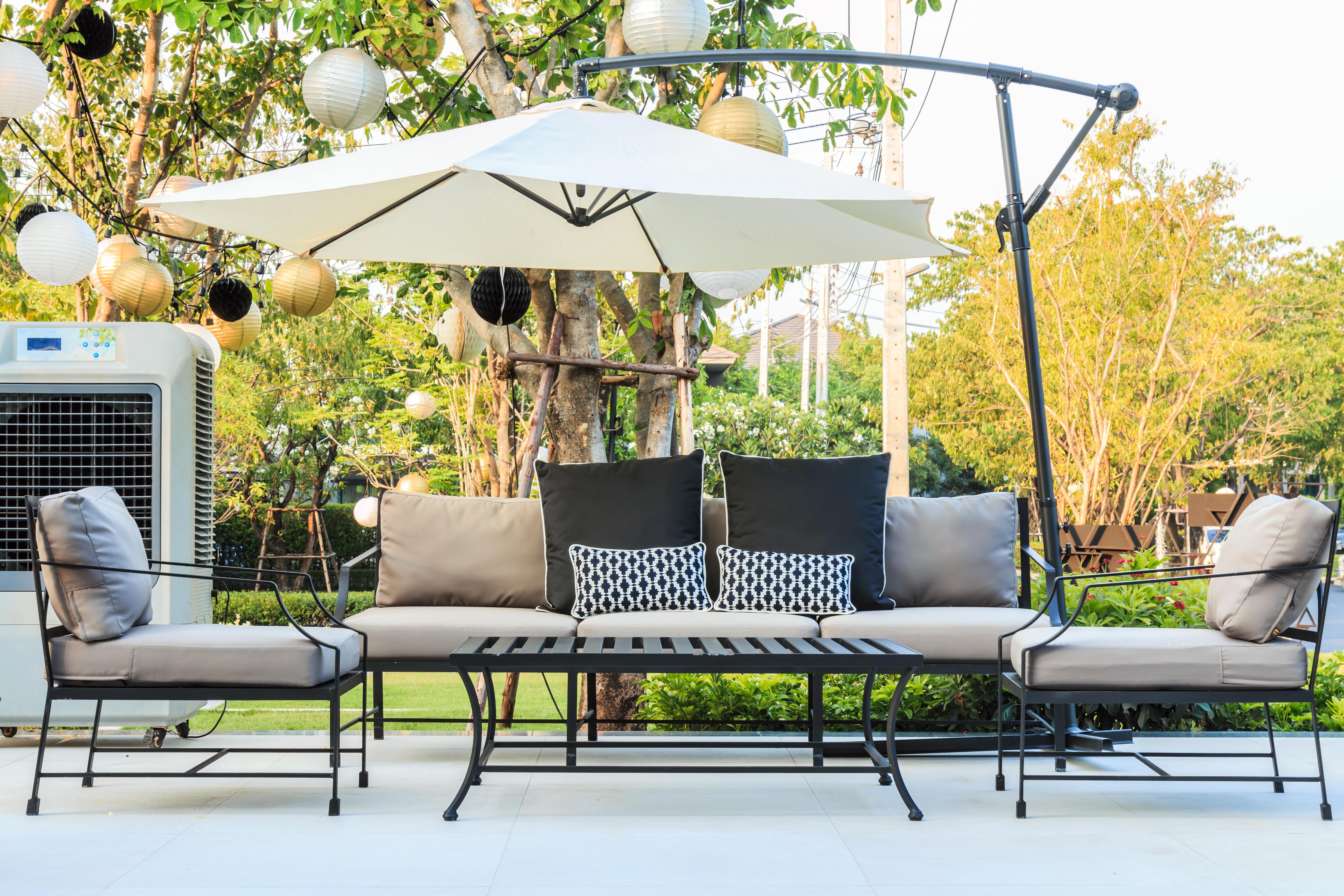 mobili giardino usati