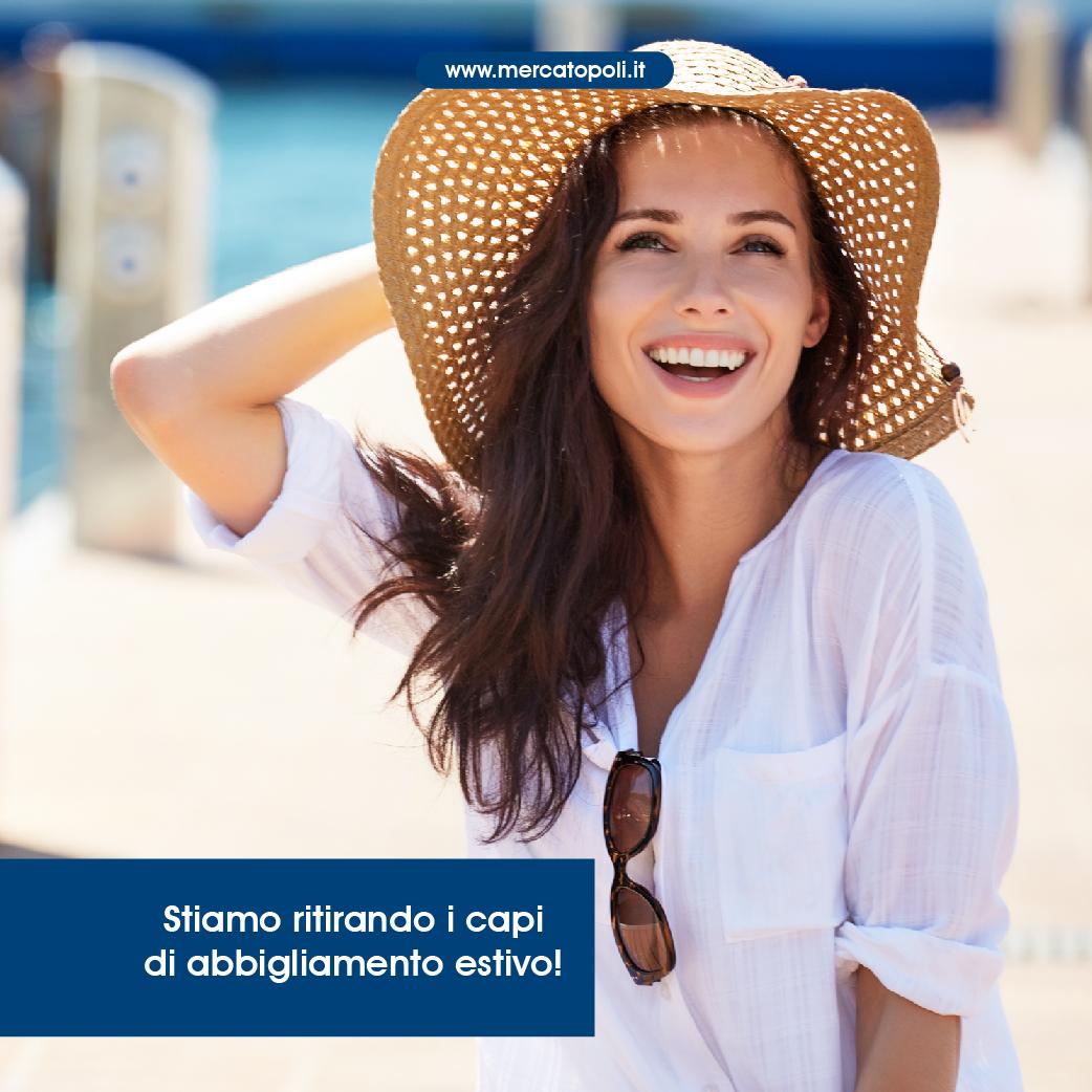 Abbigliamento estivo  è tempo di vendere il tuo usato- Mercatopoli 7635b1cbae5