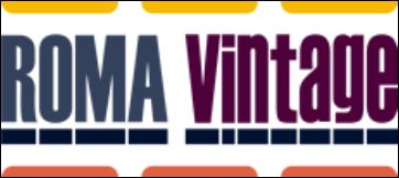 banner roma vintage